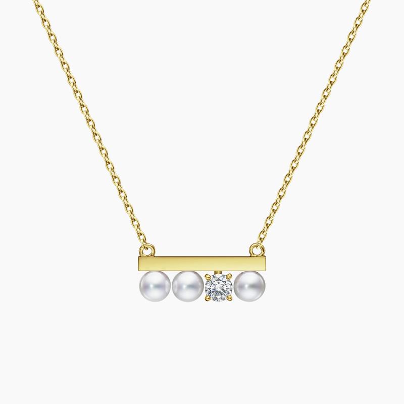 """petit"" balance diamonds solo 项链"