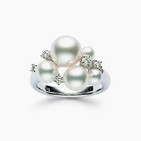 阿古屋珍珠戒指